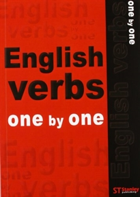 Books Frontpage English verbs one by one