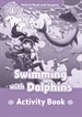 Front pageOxford Read and Imagine 4. Swimming with Dolphins Activity Book