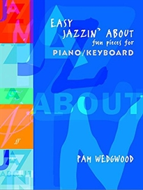 Portada del libro EASY JAZZIN  ABOUT FUN PIECES PIANO