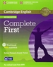 Portada del libro Complete First Workbook with Answers with Audio CD 2nd Edition