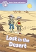 Portada del libro Oxford Read and Imagine 4. Lost in the Desert + Audio CD Pack