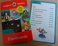 Portada del libro Ladybird Readers Level 4 Flashcards (Lb)