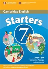 Books Frontpage Camb Starters 7 2ed Sb