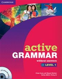 Books Frontpage Active Grammar Level 1 without Answers and CD-ROM