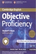 Front pageObjective Proficiency Student's Book Pack (Student's Book with Answers with Downloadable Software and Class Audio CDs (2)) 2nd Edition