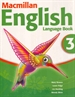 Portada del libro MACMILLAN ENGLISH 3 Language Book