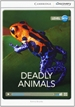 Front pageDeadly Animals High Beginning Book with Online Access