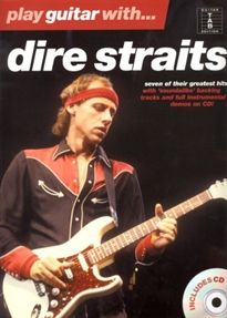 Books Frontpage PLAY GUITAR WITH DIRE STRAITS (+CD) (TAB)