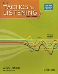 Books Frontpage Tactics for Listening 3rd Edition Basic Student's Book