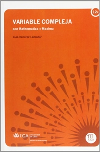 Books Frontpage Variable compleja con Mathematica o Maxima