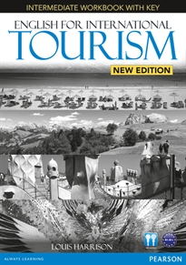 Books Frontpage English for International Tourism Intermediate New Edition Workbook with Key and Audio CD Pack