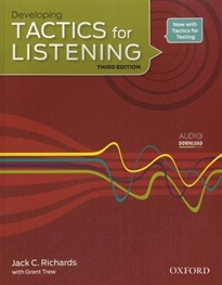 Books Frontpage Tactics for Listening 3rd Edition Developing Student's Book