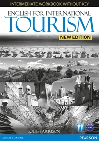 Books Frontpage English for International Tourism Intermediate New Edition Workbook without Key and Audio CD Pack