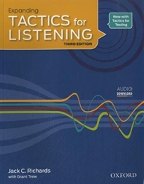 Books Frontpage Tactics for Listening 3rd Edition Expanding Student's Book
