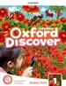 Portada del libro Oxford Discover 1. Class Book 2nd Edition