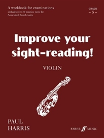 Books Frontpage IMPROVE YOUR SIGHT READING VIOLIN GRADE 5