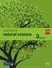 Portada del libro Natural science. 3 Primary. Savia. Workbook