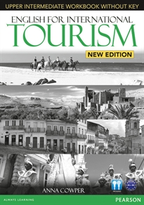 Books Frontpage English for International Tourism Upper Intermediate New Edition Workbook with Key and Audio CD Pack