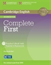 Portada del libro Complete First Teacher's Book with Teacher's Resources CD-ROM 2nd Edition