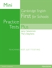 Portada del libro Mini Practice Tests Plus: Cambridge English First for Schools