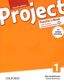 Books Frontpage Project 1. Teacher's Book Pack & Online Practice 4th Edition