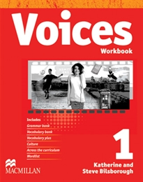 Books Frontpage VOICES 1 Wb Pk Cat