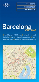 Books Frontpage Barcelona City Map