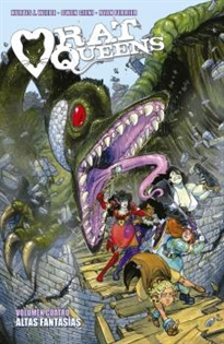 Portada del libro Rat Queens 4. Altas Fantasã¯â¿â½As