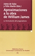 Portada del libro Aproximaciones a la obra de William James