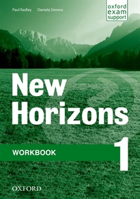 Books Frontpage New Horizons 1. Workbook