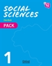 Portada del libro New Think Do Learn Social Sciences 1. Class Book + Stories Pack. Module 1. Living in society.