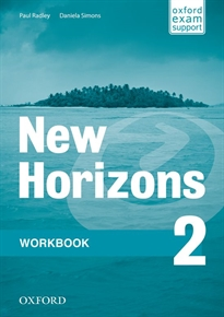 Books Frontpage New Horizons 2. Workbook