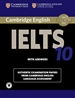 Portada del libro Cambridge IELTS 10 Student's Book with Answers with Audio
