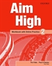 Portada del libro Aim High 2. Workbook + Online Practice Pack
