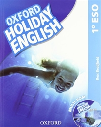 Books Frontpage Holiday English 1.º ESO. Student's Pack 3rd Edition