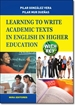 Front pageLearning to write academic texts in English in higher education (with key)