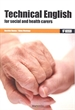 Portada del libro *Technical English for social and health carers