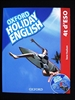 Portada del libro Holiday English 4.º ESO. Student's Pack (catalán) 3rd Edition