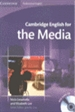 Portada del libro Cambridge English for the Media Student's Book with Audio CD