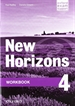 Front pageNew Horizons 4. Workbook