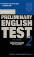 Portada del libro Cambridge Preliminary English Test 2 Student's Book with Answers 2nd Edition