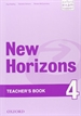 Portada del libro New Horizons 4. Teacher's Book