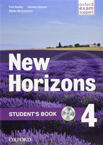 Books Frontpage New Horizons 4. Student's Book Pack