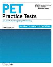 Books Frontpage PET Practice Tests. Practice Tests without Key