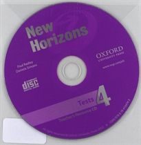 Books Frontpage New Horizons 4. Teacher's Tests CD