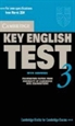 Portada del libro Cambridge Key English Test 3 Student's Book with Answers