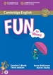 Portada del libro Fun For Movers 3ed Tch/Download Audio
