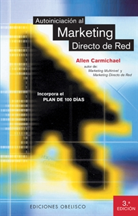 Portada del libro Autoiniciación al marketing directo de red