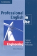 Front pageProfessional English in Use Engineering with Answers