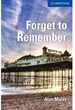 Portada del libro Forget to Remember Level 5 Upper-intermediate